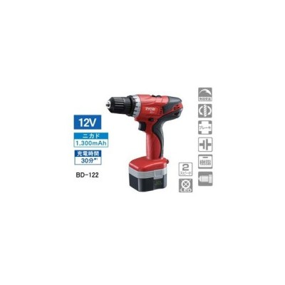 KYOCERA/京セラインダストリアルツールズ  RYOBI/リョービ BD-122 DIY用充電式ドライバドリル