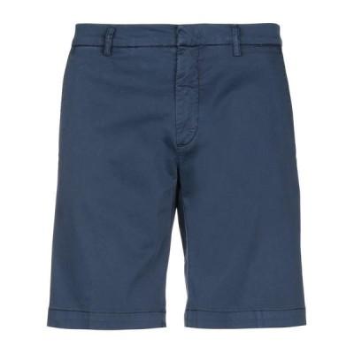 BRO-SHIP ショートパンツ&バミューダパンツ  メンズファッション  ボトムス、パンツ  ショート、ハーフパンツ ダークブルー