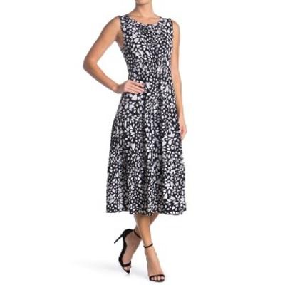 ロビービー レディース ワンピース トップス Printed Sleeveless Midi Dress DITSY HEARTS