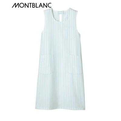 MONTBLANC 予防衣(ノースリーブ)(男女兼用) ナースウェア・白衣・介護ウェア