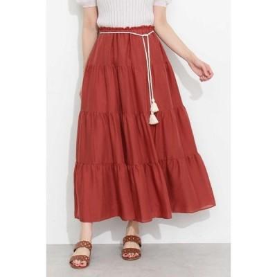 PROPORTION BODY DRESSING ティアードカラースカート
