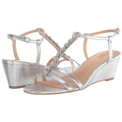 Jewel Badgley Mischka Farah レディース ヒール パンプス Silver