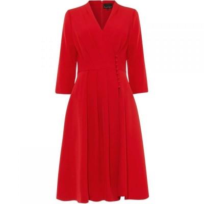 フェイズ エイト Phase Eight レディース ワンピース コートドレス ワンピース・ドレス Tania Coat Dress Scarlet