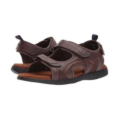 Nunn Bush ナンブッシュ メンズ 男性用 シューズ 靴 サンダル Rio Grande Three Strap River Sandal - Tan