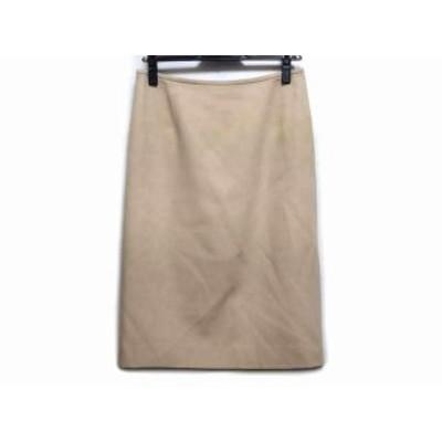 ランバンコレクション LANVIN COLLECTION ロングスカート サイズ40 M レディース - ベージュ【中古】20210128