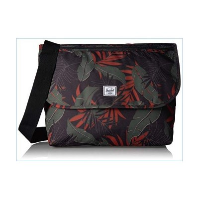 Herschel Grade Messenger Bag, Dark Olive Palm, Classic並行輸入品