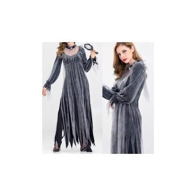 ハロウィン 仮装 コスプレ 女王 ドレス ロング セクシー 大人 レディース fe-1240