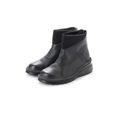 ノイエ ディフュージョン neue diffusion 4E設計軽量ショートブーツ/4413 (ブラック)大きいサイズ&小さいサイズ