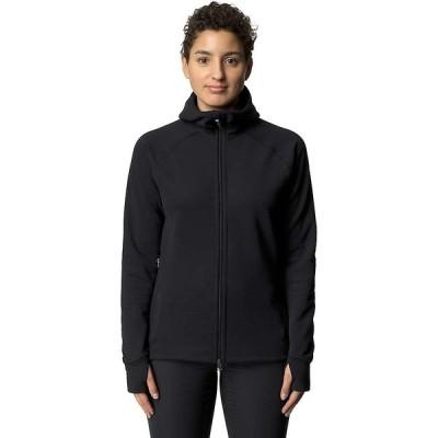 フーディニ ジャケット・ブルゾン レディース アウター Houdini Women's Mono Air Houdi Fleece Jacket True Black