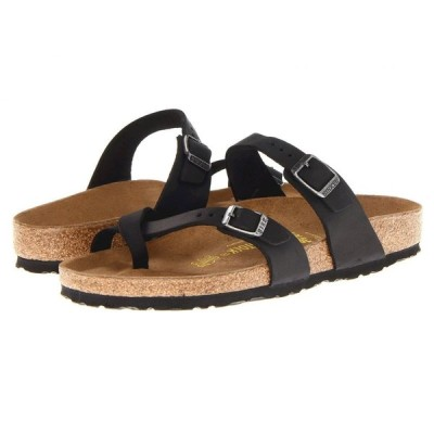 ビルケンシュトック Birkenstock レディース サンダル・ミュール シューズ・靴 Mayari Black Oiled Leather