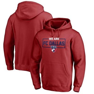 """ファナティックス メンズ パーカー """"FC Dallas"""" Fanatics Branded We Are Pullover Hoodie - Red"""