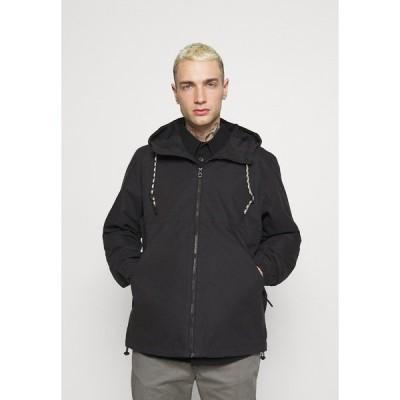 イー ディ シー バイ エスプリ ジャケット&ブルゾン メンズ アウター HOOD - Summer jacket - black