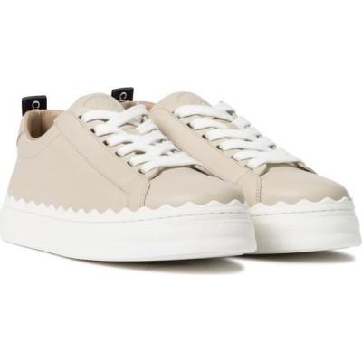 クロエ Chloe レディース スニーカー シューズ・靴 lauren leather sneakers Wheat Beige