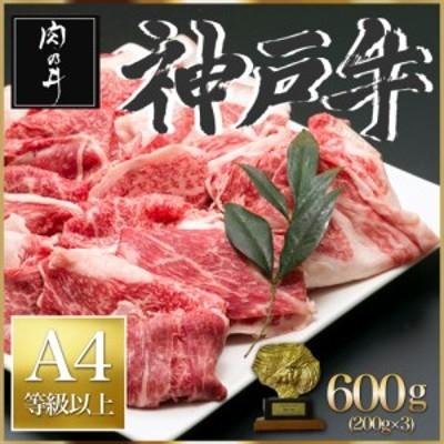 神戸牛 600g A4ランク 銘柄牛 父の日 贈答 和牛 送料無料   最安値に挑戦