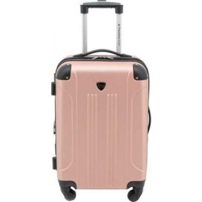 トラベラーズクラブ Travelers Club レディース スーツケース・キャリーバッグ ハードサイド バッグ Chicago III 20 Hardside Spinner Ca
