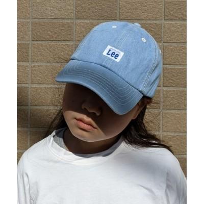 WEST CLIMB / Lee/リー キッズ ワンポイントロゴデニムキャップ KIDS 帽子 > キャップ