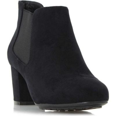 リネアペレ Linea レディース ブーツ ショートブーツ シューズ・靴 Oma Block Heel Ankle Boots Black