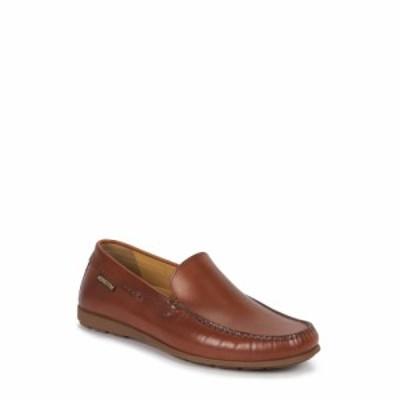 メフィスト MEPHISTO メンズ スリッポン・フラット シューズ・靴 Algoras Slip-On Brandy Leather