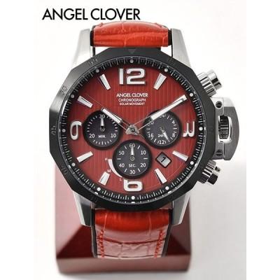 エンジェルクローバー  AngelClover  腕時計 TIME CRAFT SOLAR  クオーツ 12角形 リバイバル レッド 国内正規品 でらでら 公式ブランド