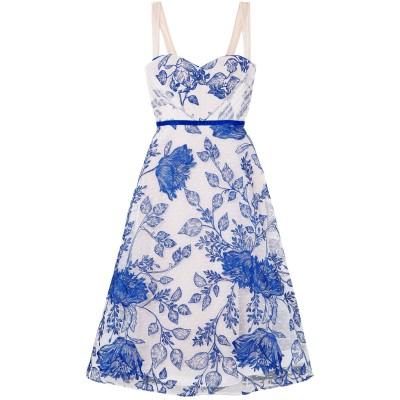 MICHAEL LO SORDO 7分丈ワンピース・ドレス ホワイト 12 ナイロン 100% / ポリエステル 7分丈ワンピース・ドレス