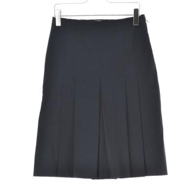 【期間限定値下げ】PRADA / プラダ タックストレッチ スカート