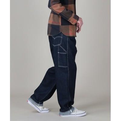 【自宅で試着、返品送料無料】「STAY LOOSE」 デニムパンツ メンズ