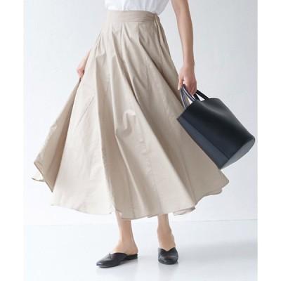 【コカ】コットンサーキュラーロングスカート