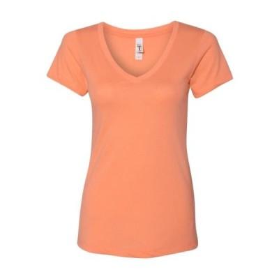 レディース 衣類 トップス Next Level - Women's Ideal V Next Level - NIB Tシャツ