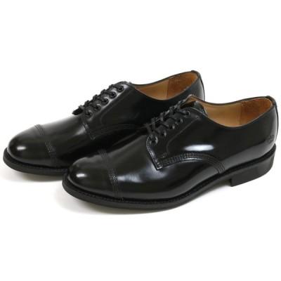 サンダース ミリタリー ダービーシュー ブラック (Sanders #1128 Derby Shoe Black)
