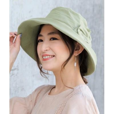 14+(ICHIYON PLUS) / ウォッシュコーティング生地セーラーハット WOMEN 帽子 > ハット