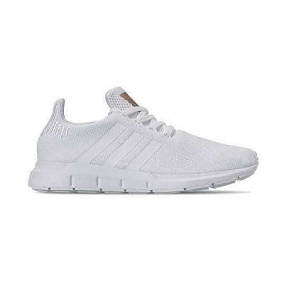 adidas Originals Women's Swift Running Shoe, White/White/Copper Metallic, 10