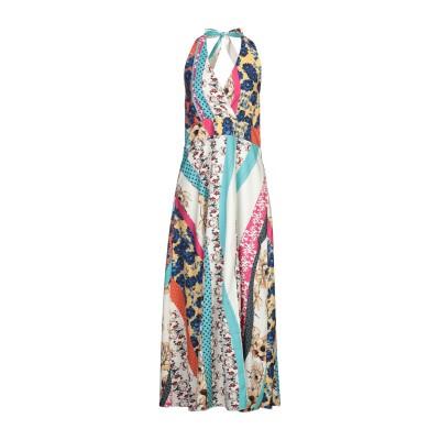 CARE OF YOU ロングワンピース&ドレス アイボリー S/M ポリエステル 100% ロングワンピース&ドレス