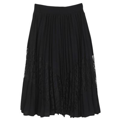 MINIMUM ひざ丈スカート ブラック 36 ポリエステル 95% / ポリウレタン 5% ひざ丈スカート