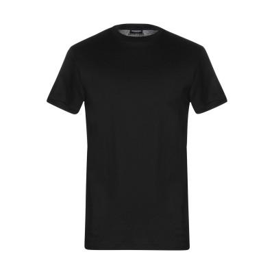 ディースクエアード DSQUARED2 アンダーTシャツ ブラック S コットン 100% アンダーTシャツ