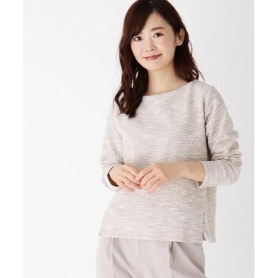 index / 【WEB限定サイズ】KIWIツイードジャージタックスリーブプルオーバー WOMEN トップス > Tシャツ/カットソー