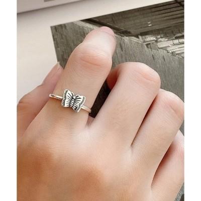 指輪 F&D : Small butterfly Ring Silver925