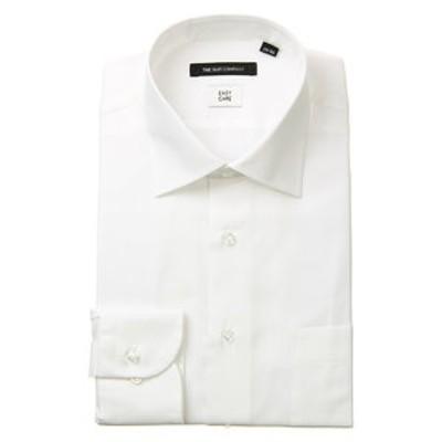 ワイドカラードレスシャツ シャドーストライプ 〔EC・BASIC〕