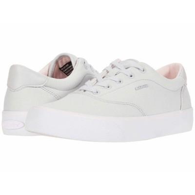 ラグズ スニーカー シューズ レディース Flip Lite Grey/Powder Pink/White