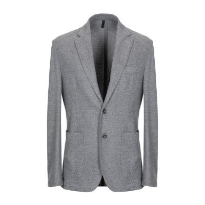 DOMENICO TAGLIENTE テーラードジャケット グレー 52 ポリエステル 50% / バージンウール 36% / ナイロン 12% /