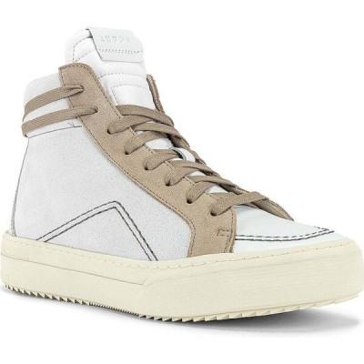 ルード Rhude メンズ スニーカー シューズ・靴 v1-hi sneaker White Leather/Grey Suede/Brown White