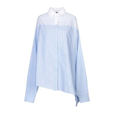 BEN TAVERNITI™ UNRAVEL PROJECT シャツ スカイブルー 36 コットン 100% / シルク シャツ