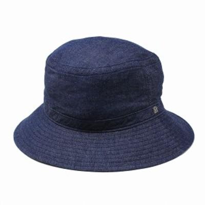 デニム バケットハット 春 夏 日本製 KNOX ノックス サファリハット 帽子 メンズ タンガリーデニ
