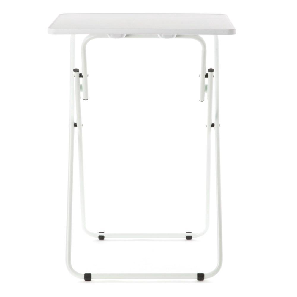 簡約便攜小方桌 白色