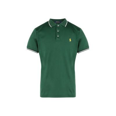 POLO RALPH LAUREN ポロシャツ グリーン S コットン 100% ポロシャツ