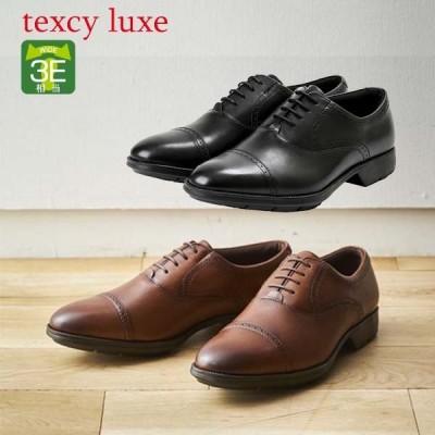 テクシーリュクス texcy luxe ビジネスシューズ メンズ 3E相当 紳士靴  本革 TU-7774 アシックス商事