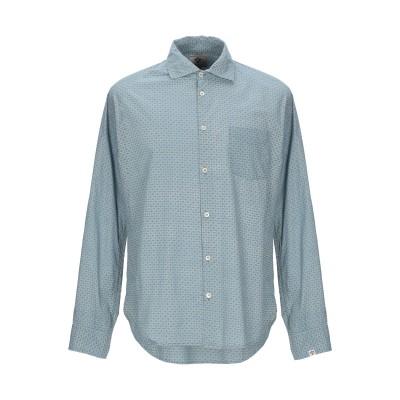 BSBEE シャツ パステルブルー L コットン 100% シャツ