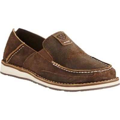 アリアト スニーカー シューズ メンズ Cruiser Moc Toe Slip On (Men's) Rough Oak Fabric/Leather