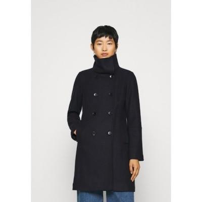 エスオリバー コート レディース アウター LANGARM - Classic coat - dark blue