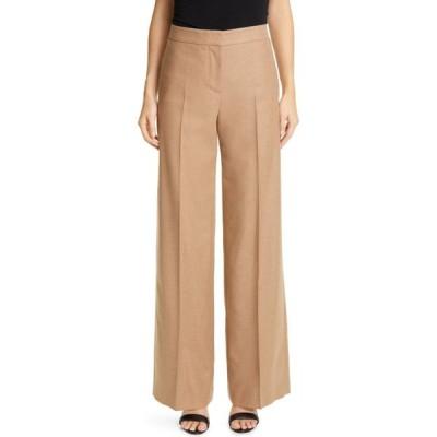 アレキサンダー マックイーン ALEXANDER MCQUEEN レディース ボトムス・パンツ ワイドパンツ Camel Hair Wide Leg Pants Camel