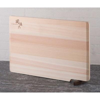 関孫六 木製 まな板 ひのき スタンド 390×240mm 貝印 AP5226